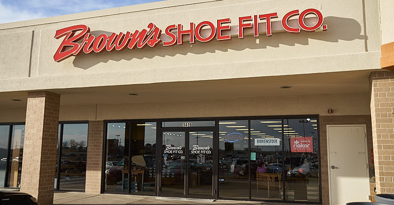 Browns Shoe Fit Marion storefront